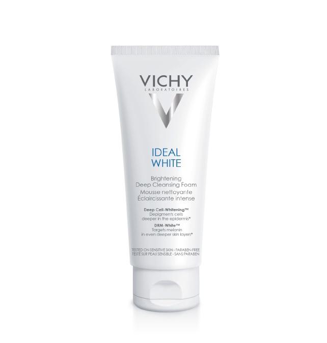 Sữa Rửa Mặt Tạo Bọt Vichy Sáng Da Ideal White Brightening Deep Cleansing Foam 100ml