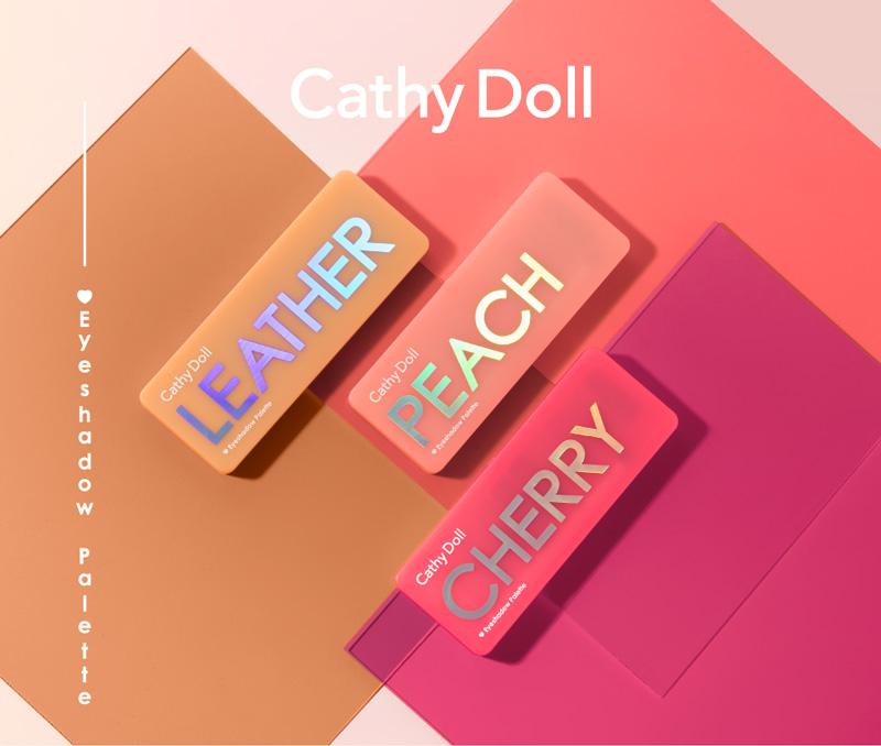 Bảng Màu Mắt Cathy Doll Eyeshadow Palette 3 trong 1