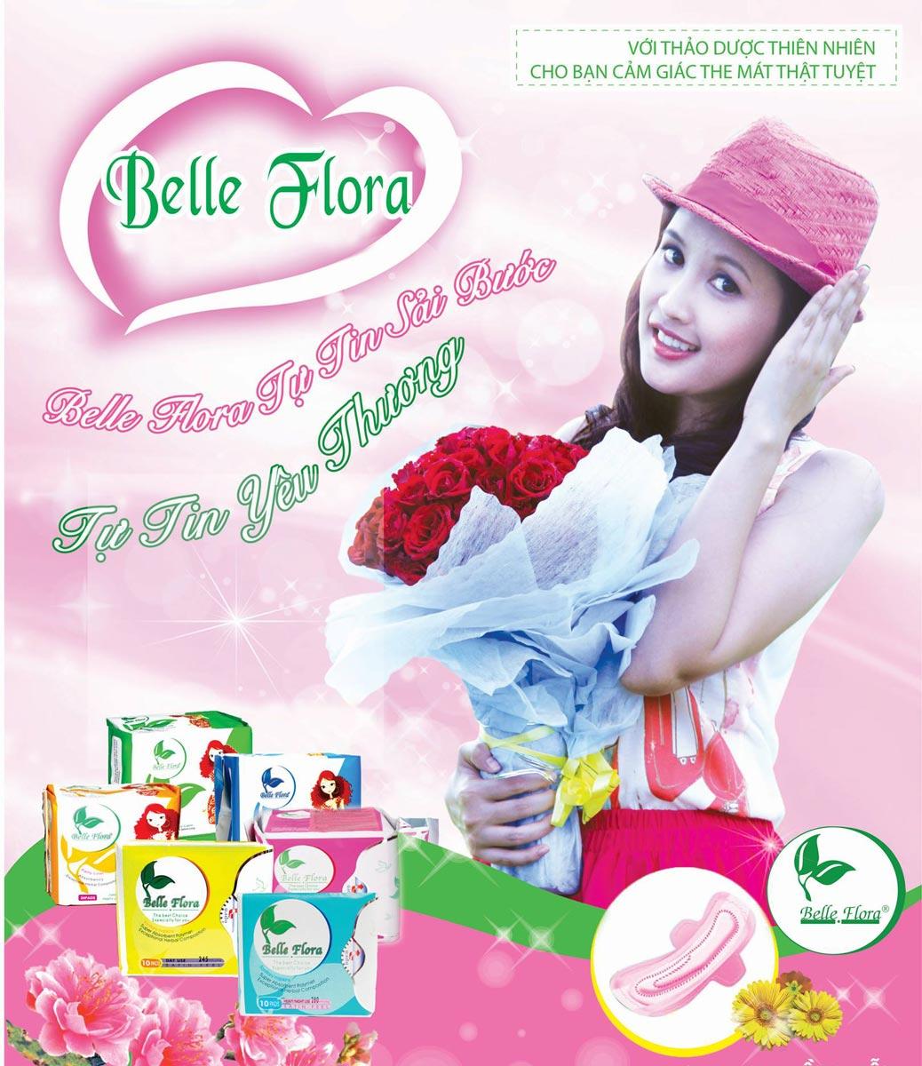 Băng Vệ Sinh Belle Flora Lưới Lụa nhập khẩu chính hãng Đài Loan hiện đã có mặt tại Hasaki