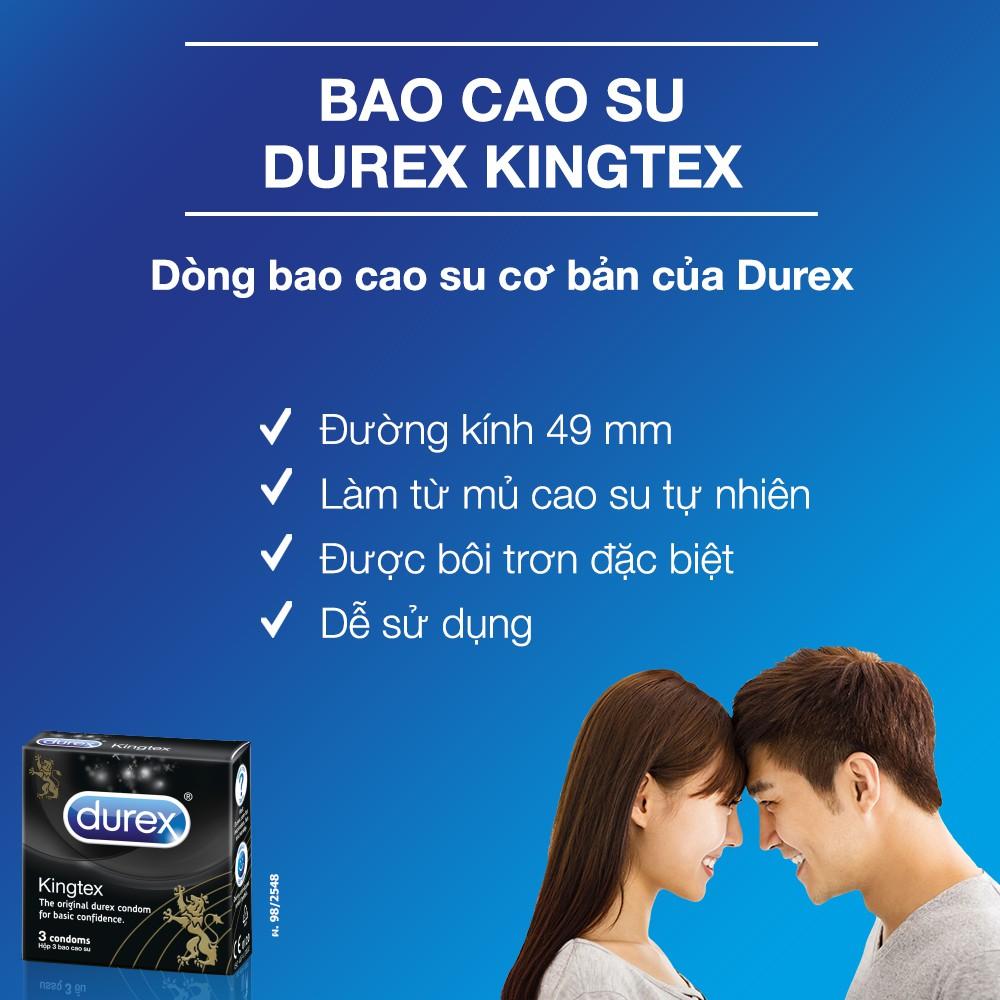 Bao Cao Su Durex Kingtex hiện đã có mặt tại Hasaki