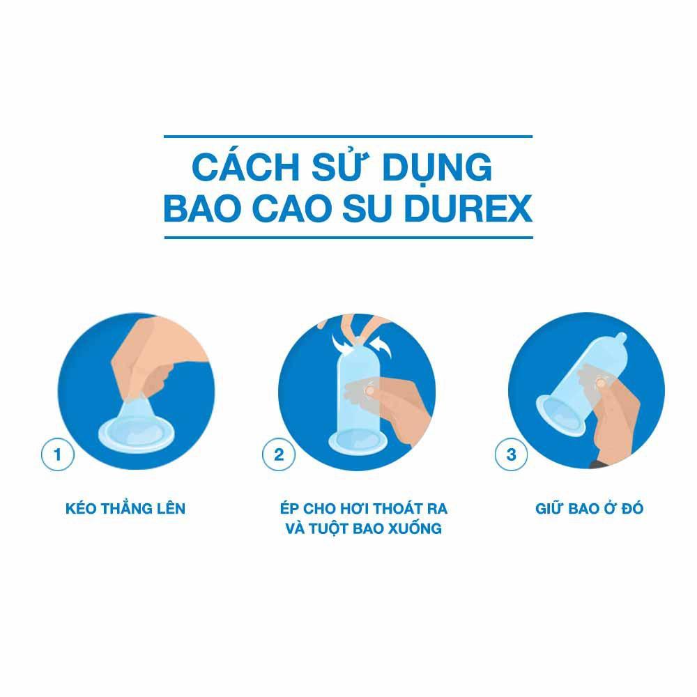 Cách sử dụng Bao Cao Su Durex Performa