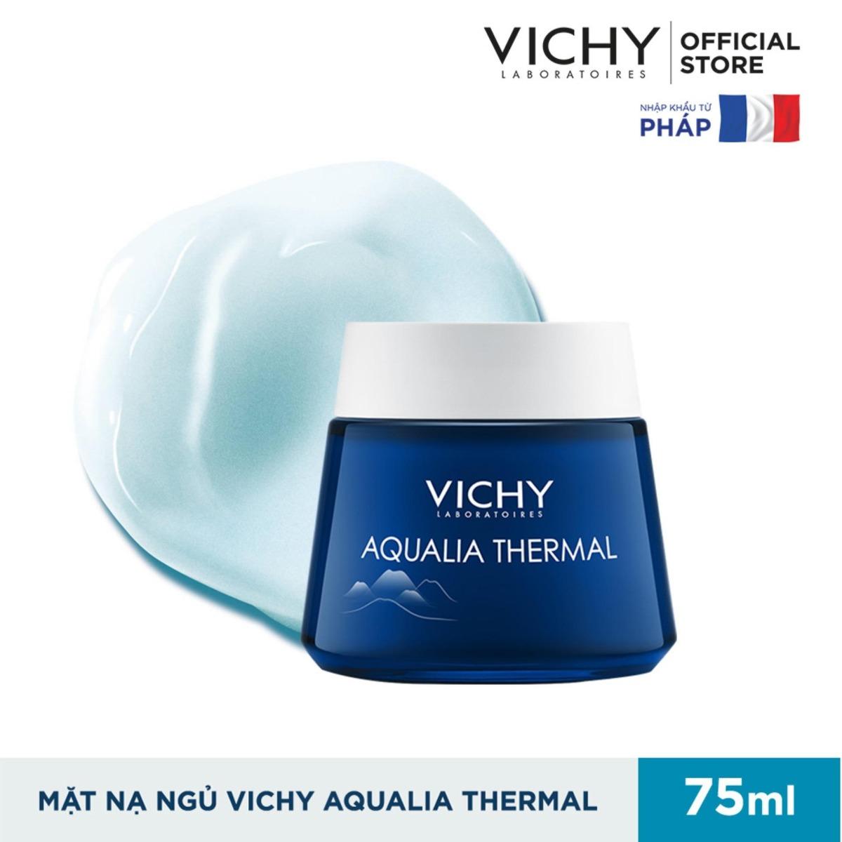 Mặt Nạ Ngủ Dưỡng Ẩm Giúp Làm Sáng Da Vichy Aqualia Thermal Night Spa