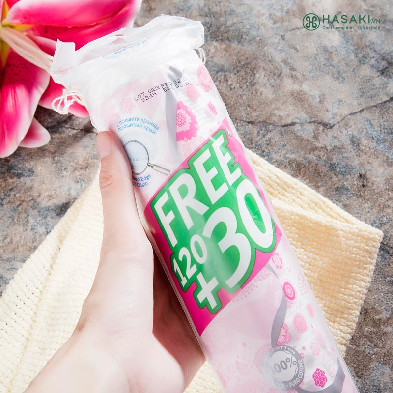 Bông Tẩy Trang Ipek Klasik Cotton Pads 150 miếng