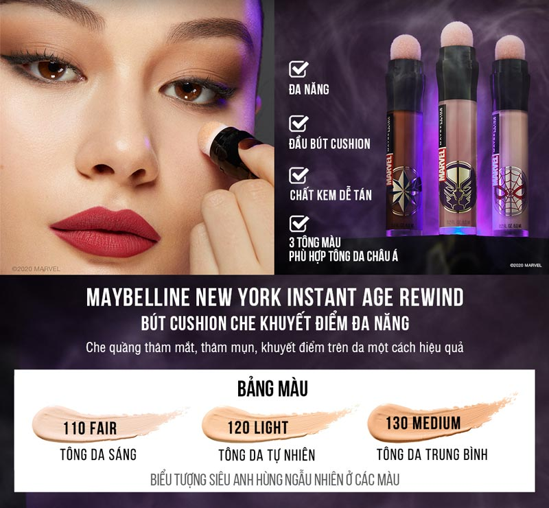 Che Khuyết Điểm Maybelline