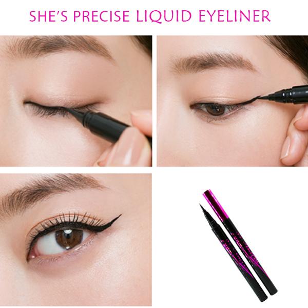 Bút Kẻ Mắt Dạng Lỏng Siêu Mảnh Australis She's Precise Liquid Eyeliner hiện đã có mặt tại Hasaki
