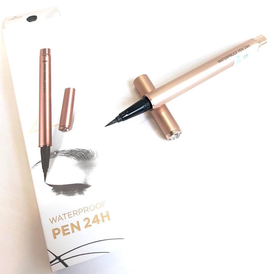 Bút Kẻ Mắt Nước Vacosi 24h Waterproof Pen (Rose Gold) hiện đã có mặt tại Hasaki