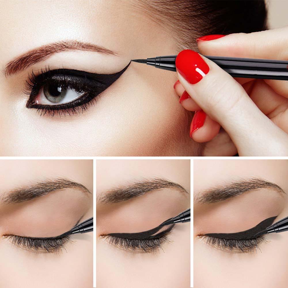 Bút Kẻ Mắt Nước Vacosi Waterproof Eyeliner Pen cho đôi mắt to tròn và cuốn hút
