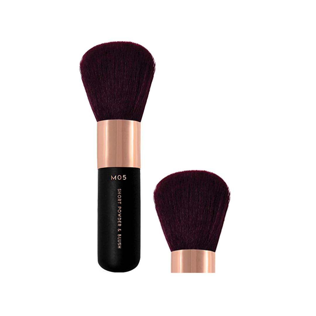 Cọ Phủ Đầu Tròn Bỏ Túi Vacosi Short Powder & Blush Brush - M05