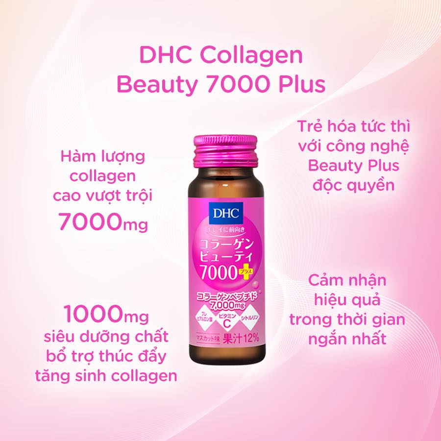 Collagen Nước DHC Collagen Beauty 7000 Plus 7000mg