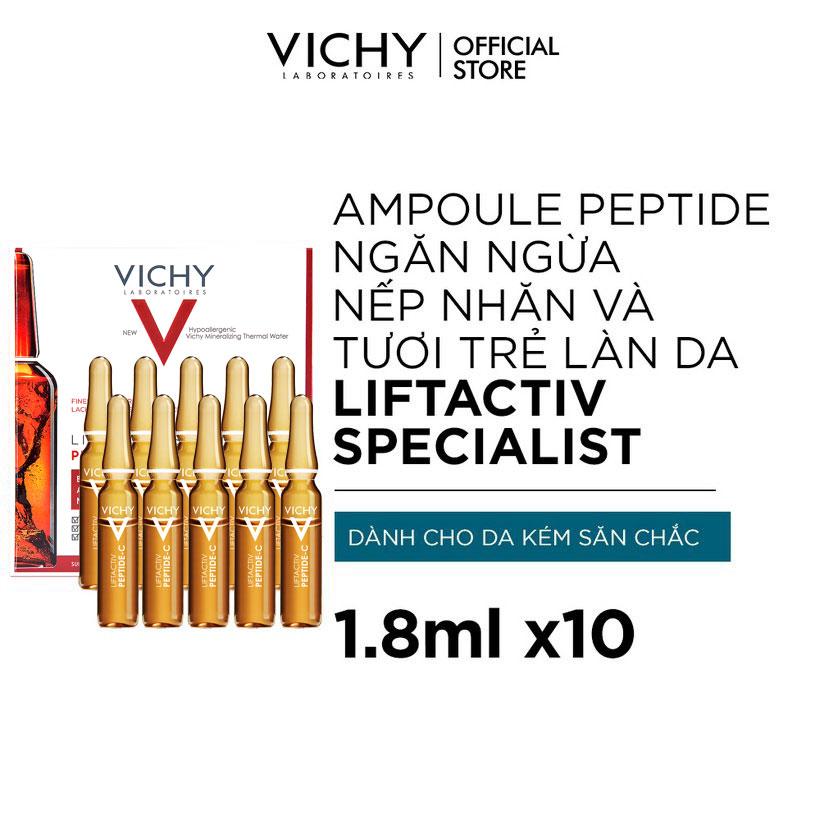 Dưỡng Chất Cô Đặc Vichy Giảm Nếp Nhăn, Tươi Trẻ Làn Da Liftactiv Specialist Peptide-C Anti-Ageing