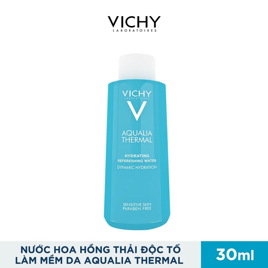 Nước Hoa Hồng Cấp Ẩm, Thải Độc Tố Cho Da Vichy Aqualia Thermal Hydrating Refreshing Water