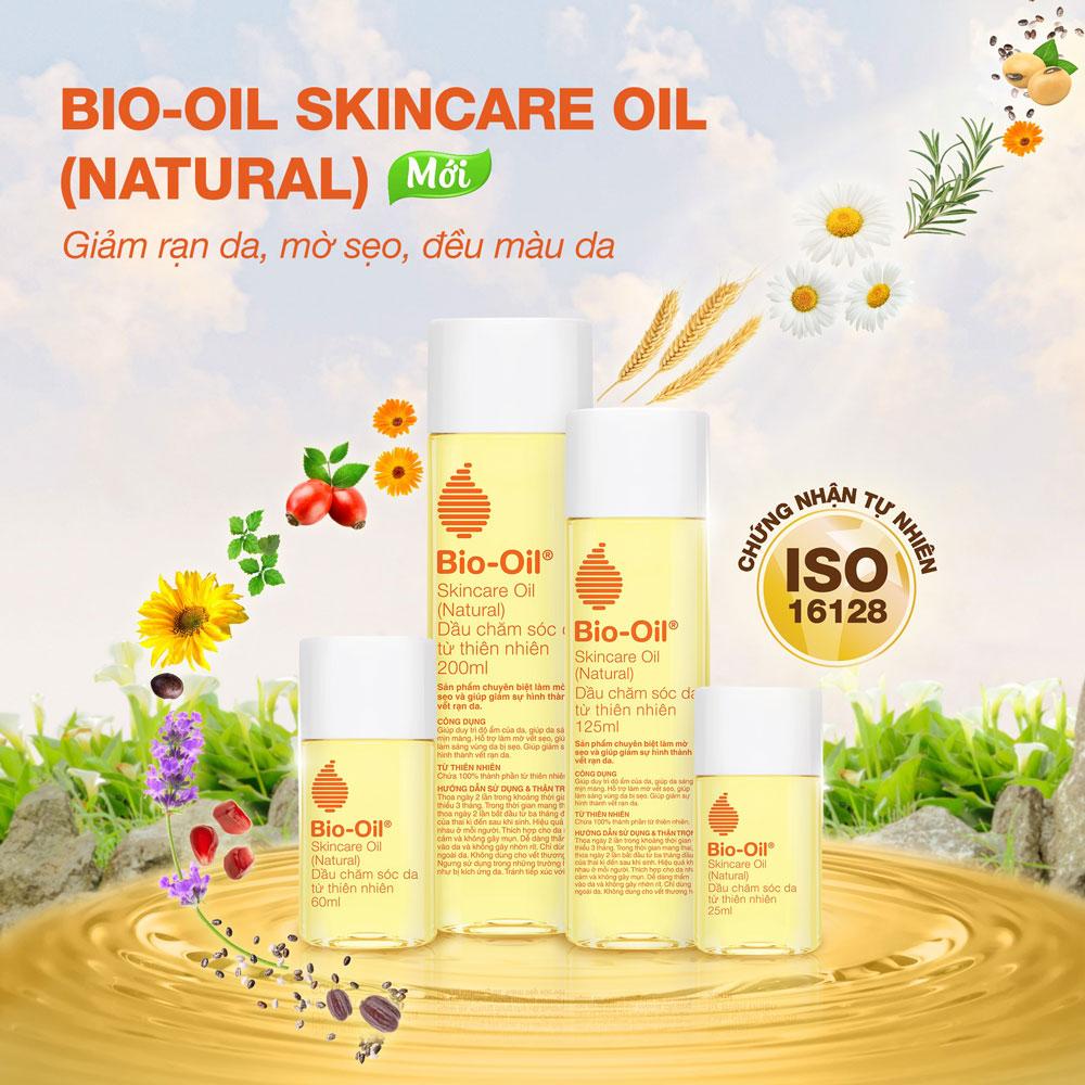 Dầu Dưỡng Chăm Sóc Da Từ Thiên Nhiên Bio-Oil Skincare Oil (Natural) hiện đã có mặt tại Hasaki.