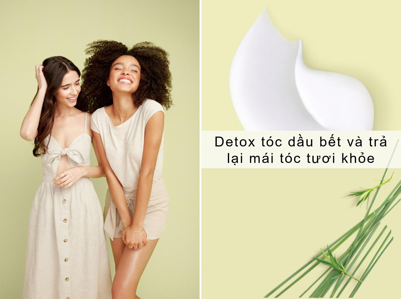 Dầu Gội Love Beauty And Planet Detox Tóc Dầu Bết Radical Refresher Shampoo 400ml
