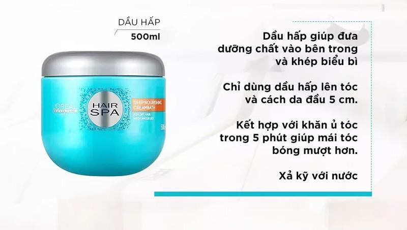 Dầu Hấp L'Oréal Professionnel Hair Spa Deep Nourishing Creambath hiện đã có mặt tại Hasaki