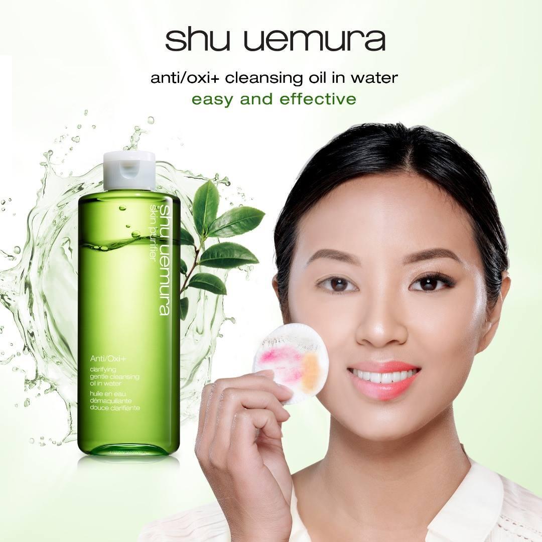 Dầu Tẩy Trang Shu Uemura Anti/Oxi Skin Refining Anti-Dullness Cleansing Oil không để lại dư lượng thừa trên da sau khi tẩy trang.