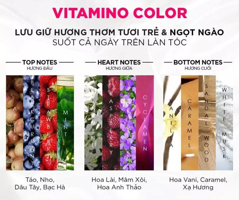 Dầu Gội L'Oréal Professionnel Serie Expert Resveratrol Vitamino Color Shampoo giúp tóc thơm suốt cả ngày dài