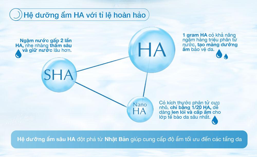 Dung Dịch Dưỡng Ẩm Tối Ưu Hada Labo Advanced Nourish Hyaluron Lotion chứa hệ dưỡng ẩm HA với tỉ lệ hoàn hảo