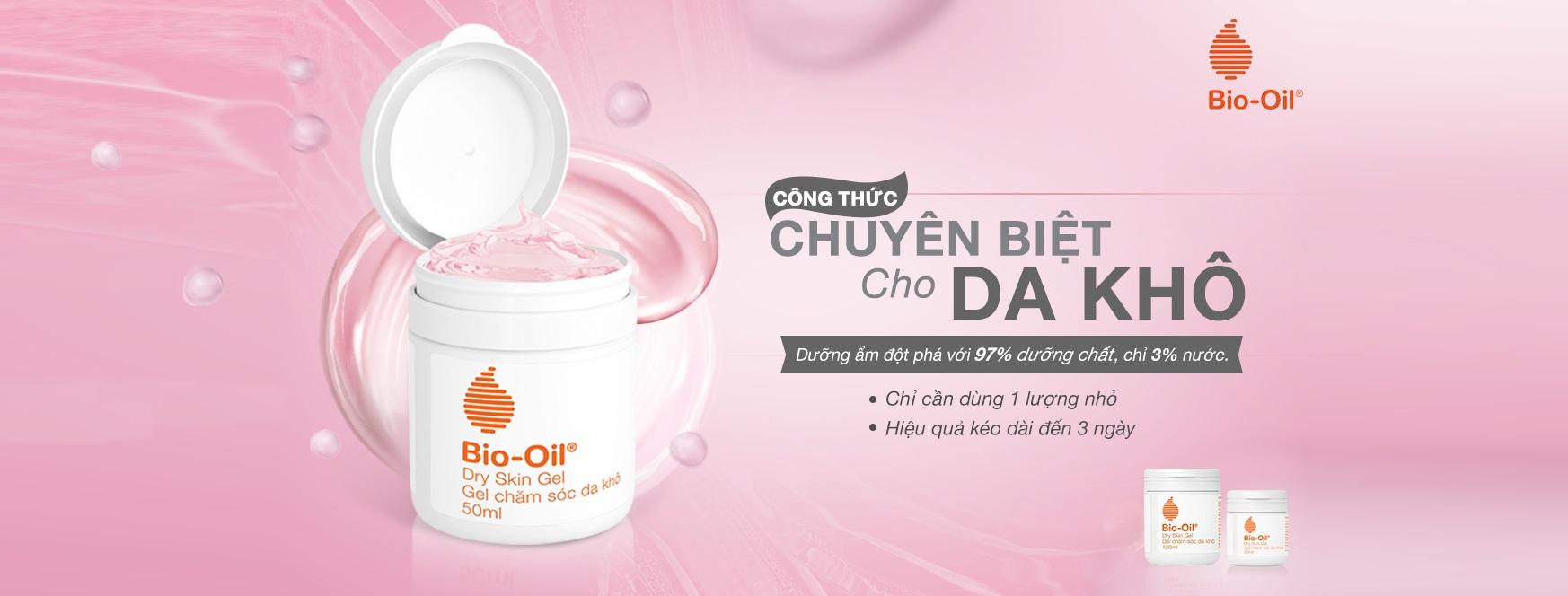 Gel Dưỡng Ẩm Da Khô Bio-Oil Dry Skin Gel