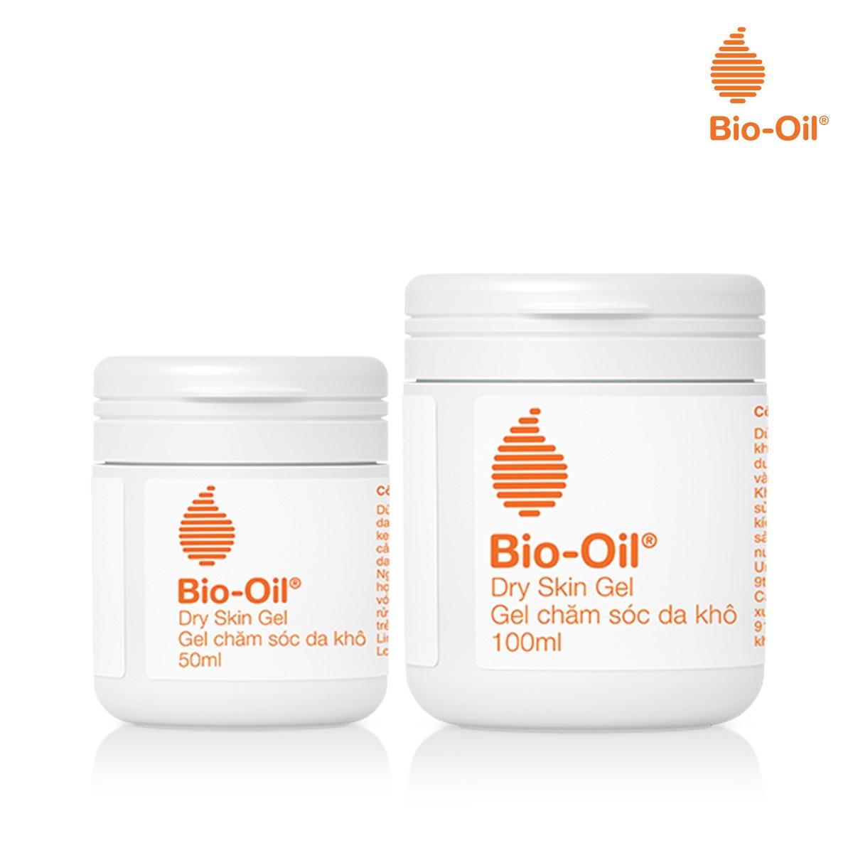 Gel Chăm Sóc Da Khô Bio-Oil Dry Skin Gel có 2 dung tích 50ml và 100ml