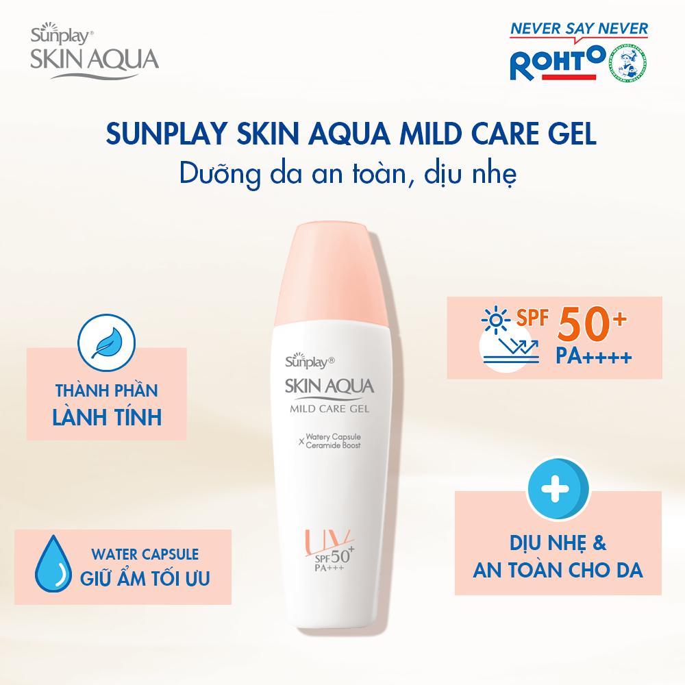 Gel Chống Nắng Sunplay Skin Aqua Mild Care Gel SPF50+ PA+++ hiện đã có mặt tại Hasaki.
