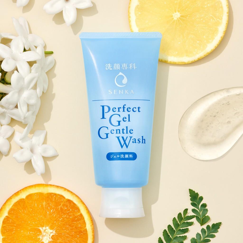 Gel Rửa Mặt Dịu Nhẹ Senka Perfect Gel Gentle Wash 100g