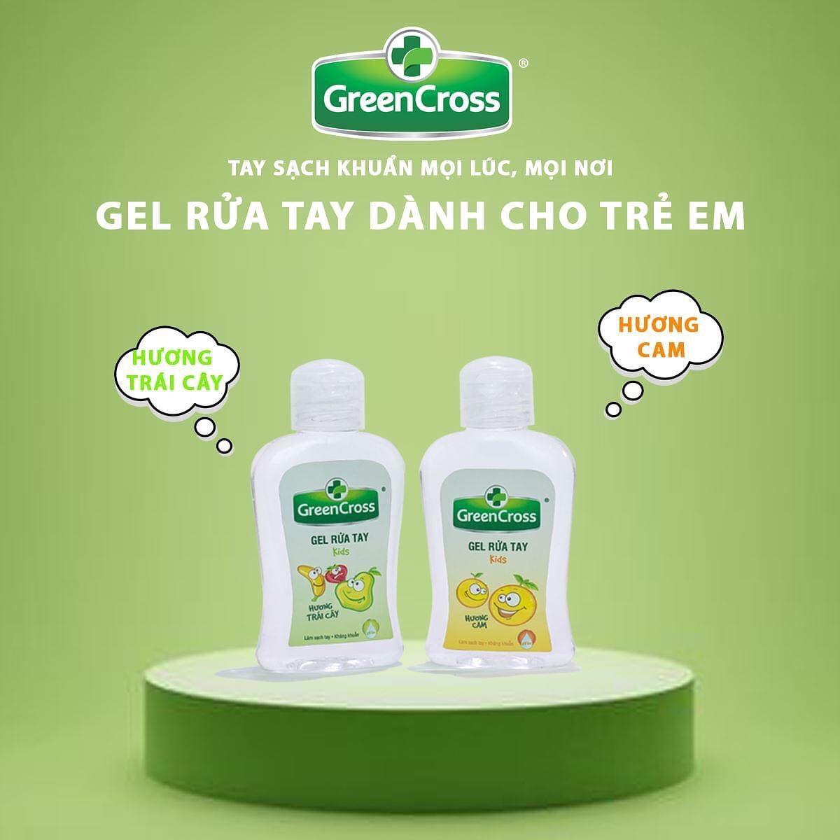 Gel Rửa Tay Khô Green Cross hiện đã có mặt tại Hasaki với các mùi hương đa dạng cho bạn lựa chọn