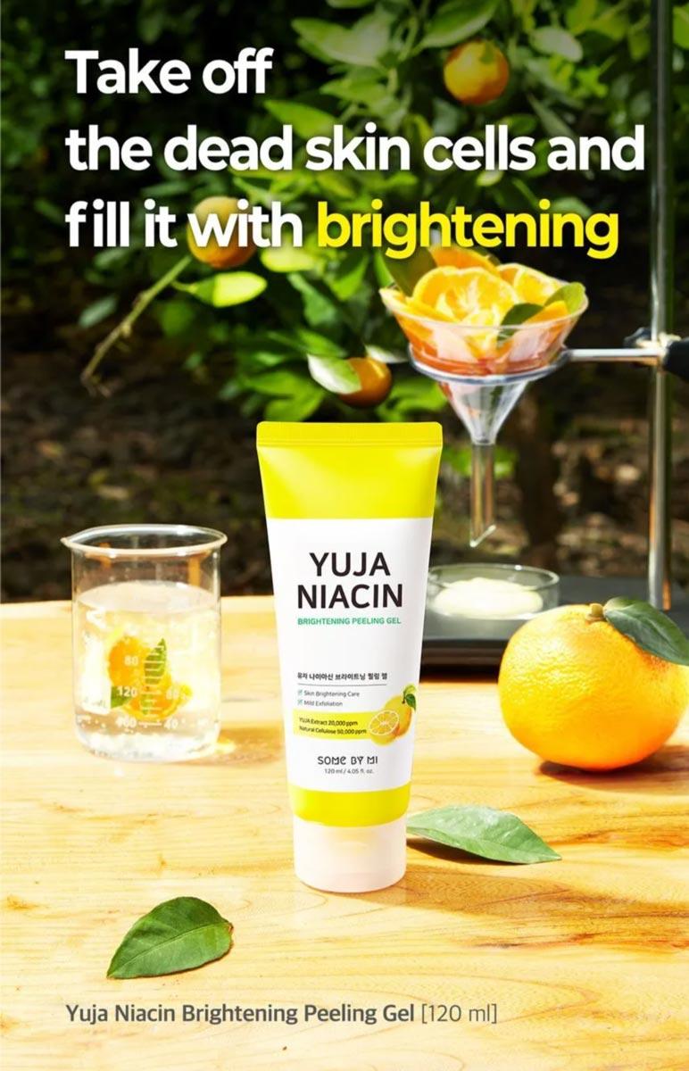 Gel Tẩy Da Chết Some By Mi Dịu Nhẹ Làm Sáng Da Yuja Niacin Brightening Peeling Gel