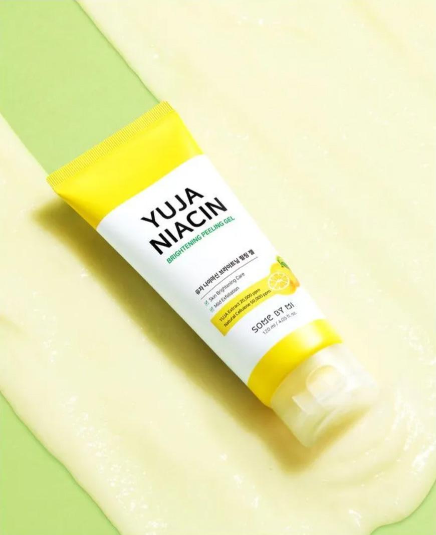 Gel Tẩy Da Chết Some By Mi Dịu Nhẹ Làm Sáng Da Yuja Niacin Brightening Peeling Gel 120ml