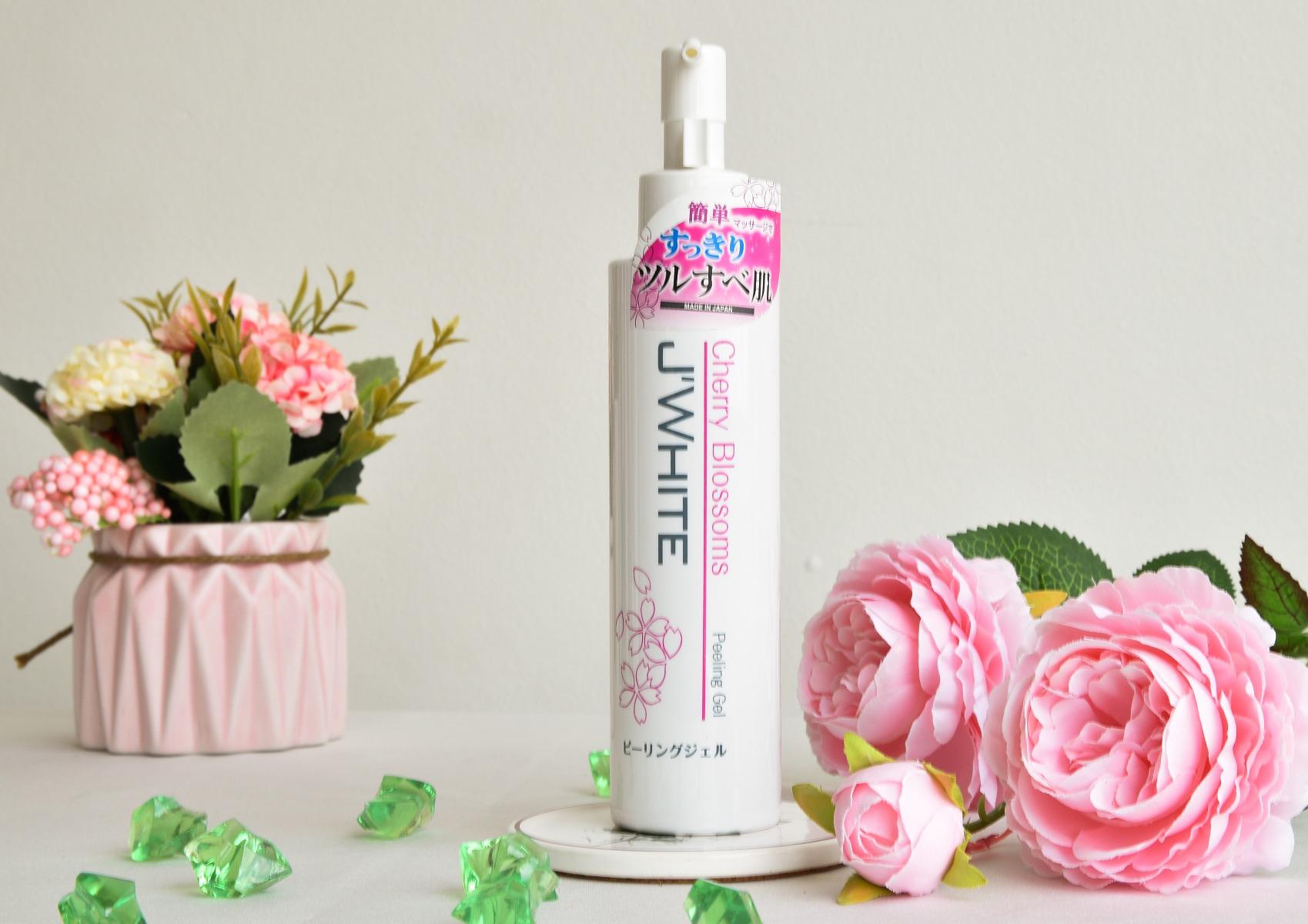 Gel Tẩy Tế Bào Chết Chiết Xuất Hoa Anh Đào J'WHITE Cherry Blossom Peeling Gel