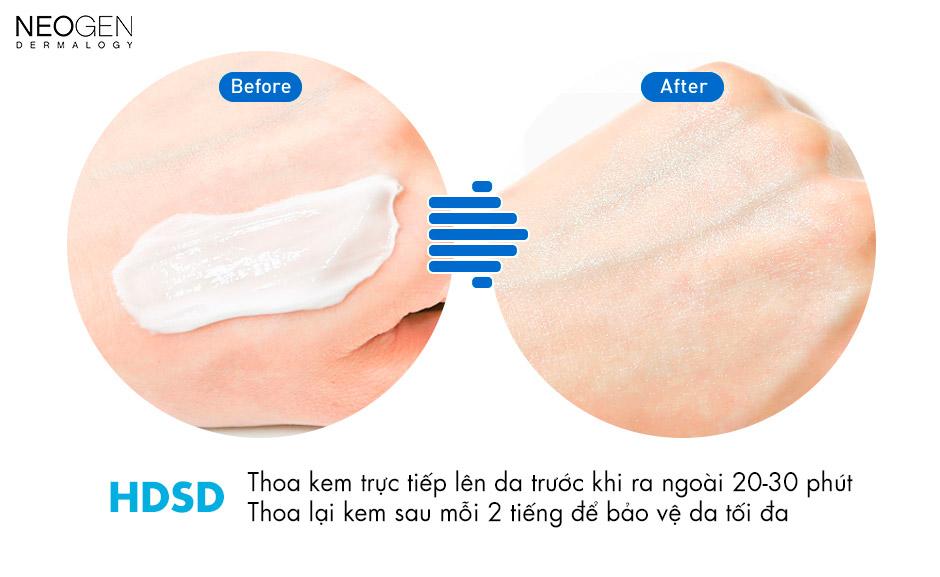 Kem Chống Nắng Neogen Dermalogy Day-Light Protection Sunscreen SPF 50 PA+++ hiện đã có mặt tại Hasaki