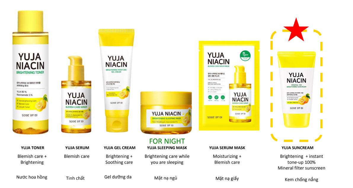 Sử dụng trọn bộ sản phẩm làm sáng da Some By Mi Yuja Niacin để đạt hiệu quả tối ưu nhất
