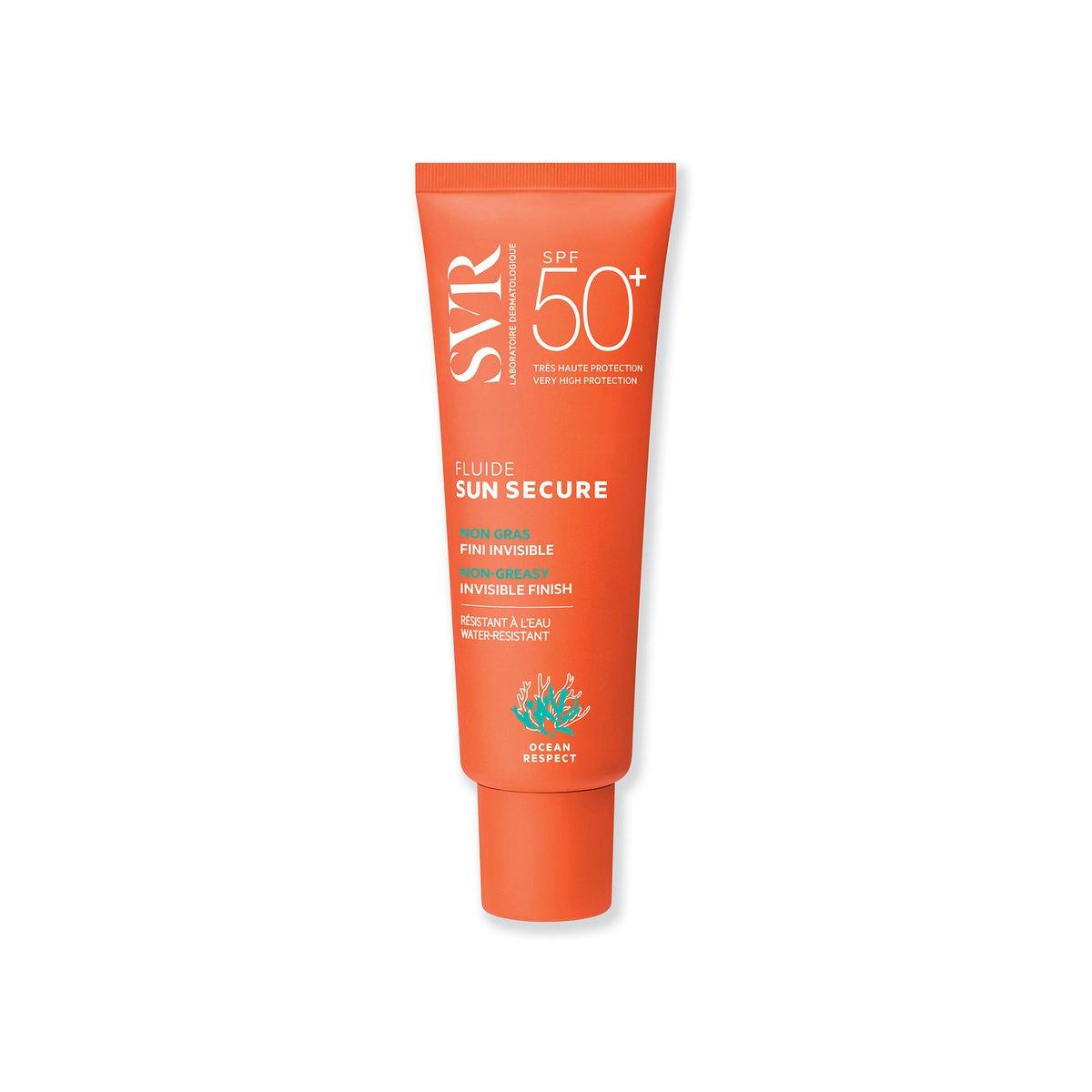 Kem Chống Nắng Trong Suốt Không Gây Nhờn Rít SVR Sun Secure Fluide SPF50+ 50ml