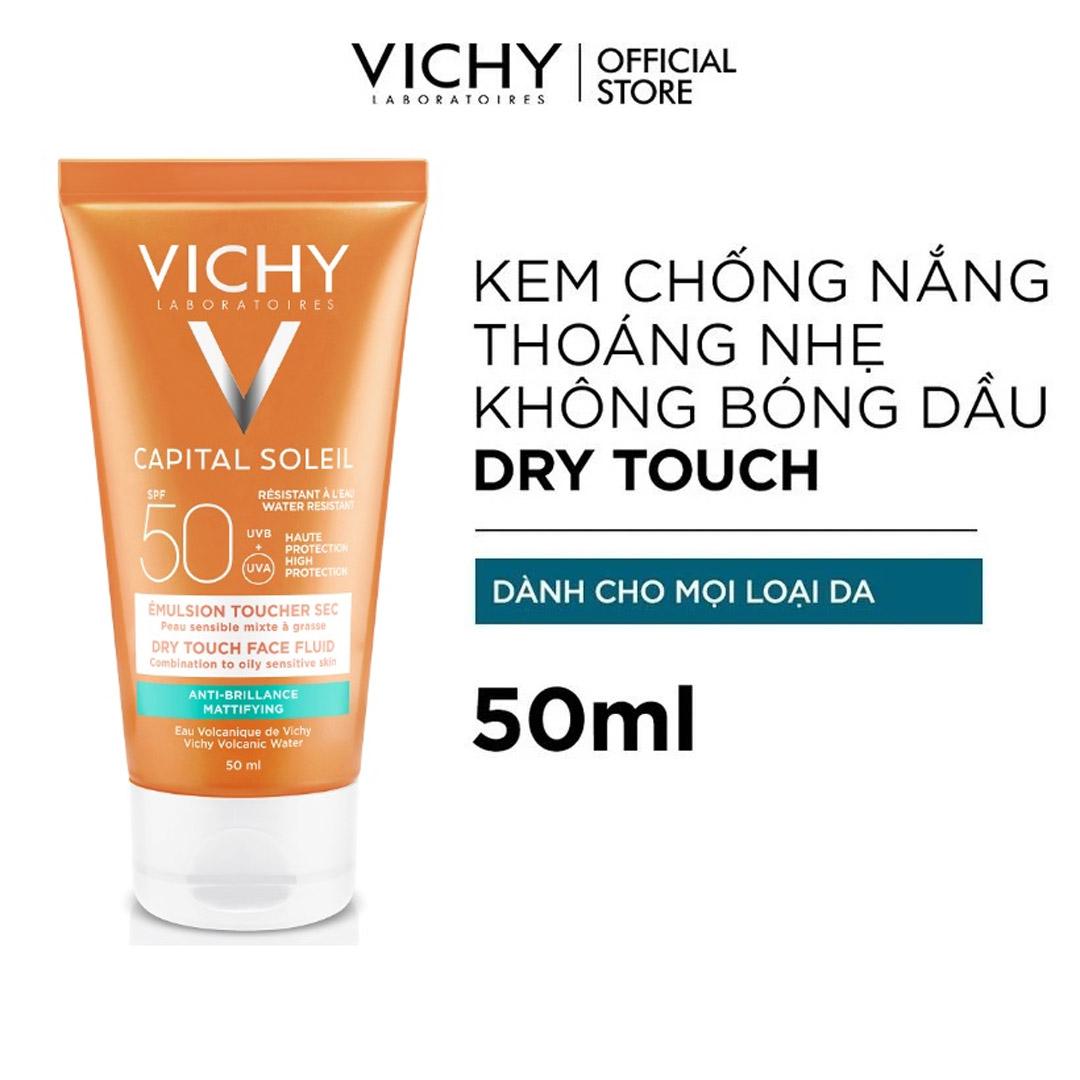 Kem Chống Nắng Vichy Ideal Soleil Dry Touch SPF 50 hiện đã có mặt tại Hasaki.