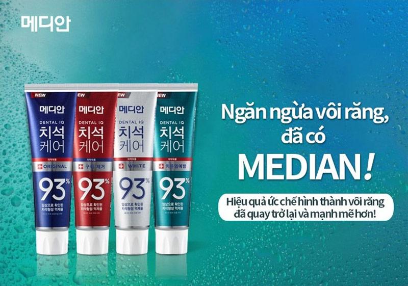 Kem Đánh Răng MEDIAN Dental IQ Tartar Protection Toothpaste
