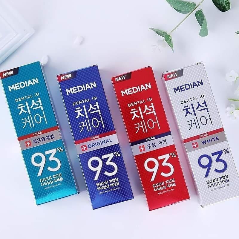 Kem Đánh Răng MEDIAN Dental IQ Tartar Protection Toothpaste Tẩy Vôi Răng Chuyên Nghiệp