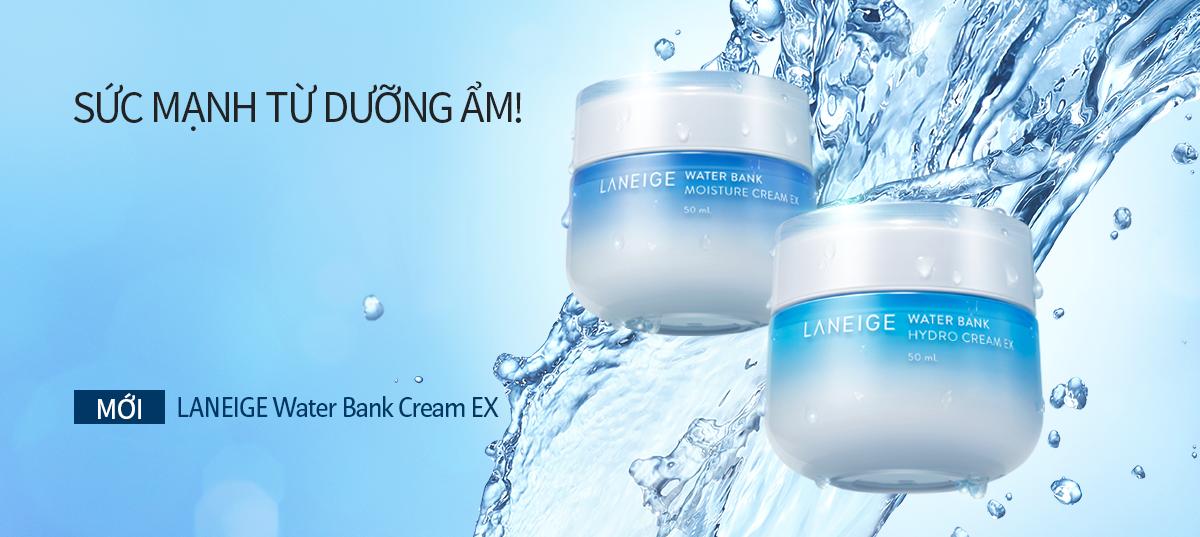 Kem Dưỡng Ẩm Cấp Nước Cho Da Laneige Water Bank Cream EX mới