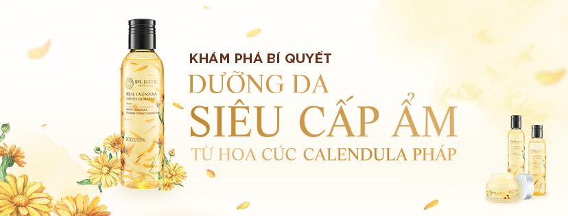Kem Dưỡng Hoa Cúc Dưỡng Ẩm Và Làm Dịu Da Purité Real Calendula Gentle Hydrating Water Cream