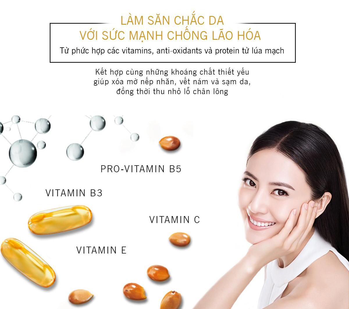 Kem Dưỡng Ban Ngày Olay Total Effects cung cấp Vitamin và khoáng chất cho da