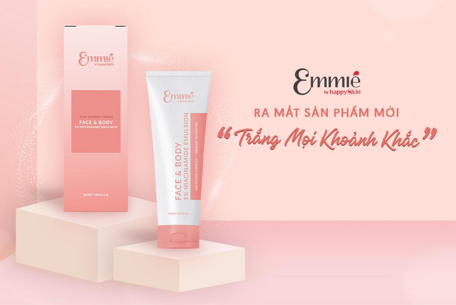 Kem Dưỡng Emmié Face & Body 5% Niacinamide Emulsion Làm Sáng Cho Da Mặt & Cơ Thể