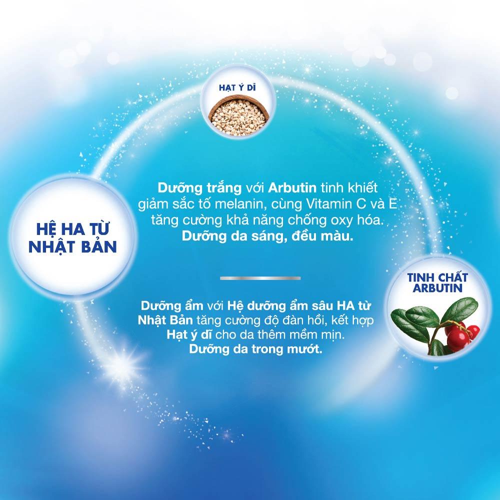 Kem Dưỡng Hada Labo Perfect White Arbutin Cream dưỡng ẩm tối ưu