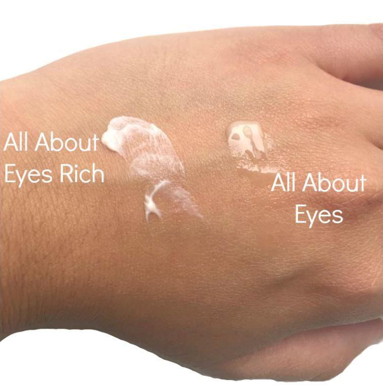 Kem Dưỡng Mắt Clinique All About Eyes Rich có kết cấu dạng kem đặc giàu độ ẩm