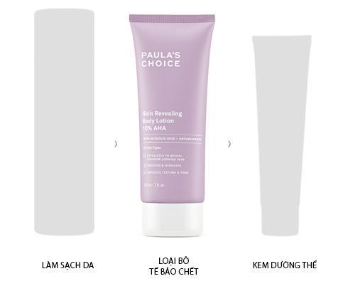 Hướng dẫn sử dụng Kem Dưỡng Thể Paula's Choice Resist Skin Revealing Body Lotion with 10% AHA
