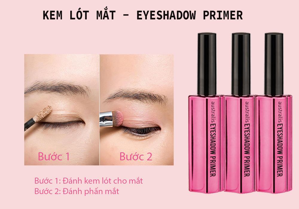 Kem Lót Mắt Che Khuyết Điểm Australis Eyeshadow Primer hiện đã có mặt tại Hasaki