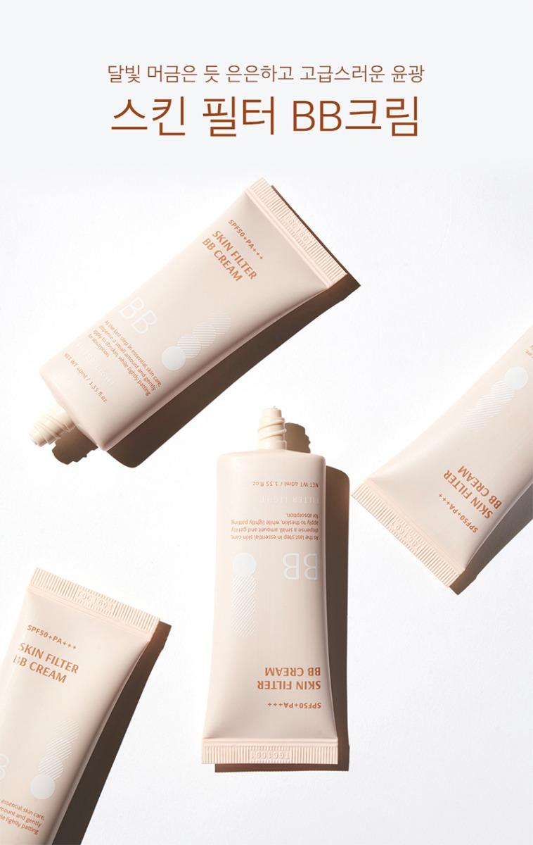 Kem Nền B.O.M Skin Filter BB Cream SPF50 PA+++ 40ml