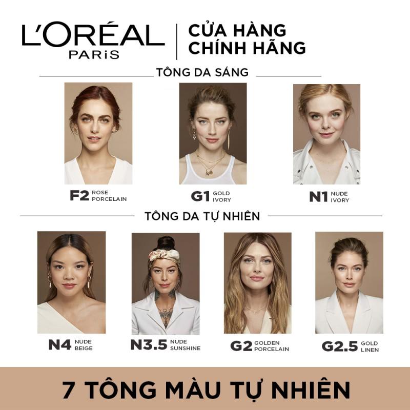 Kem Nền L'Oréal True Match Super-Blendable Foundation hiện đã có mặt tại Hasaki với 5 tông màu phù hợp với làn da châu Á.