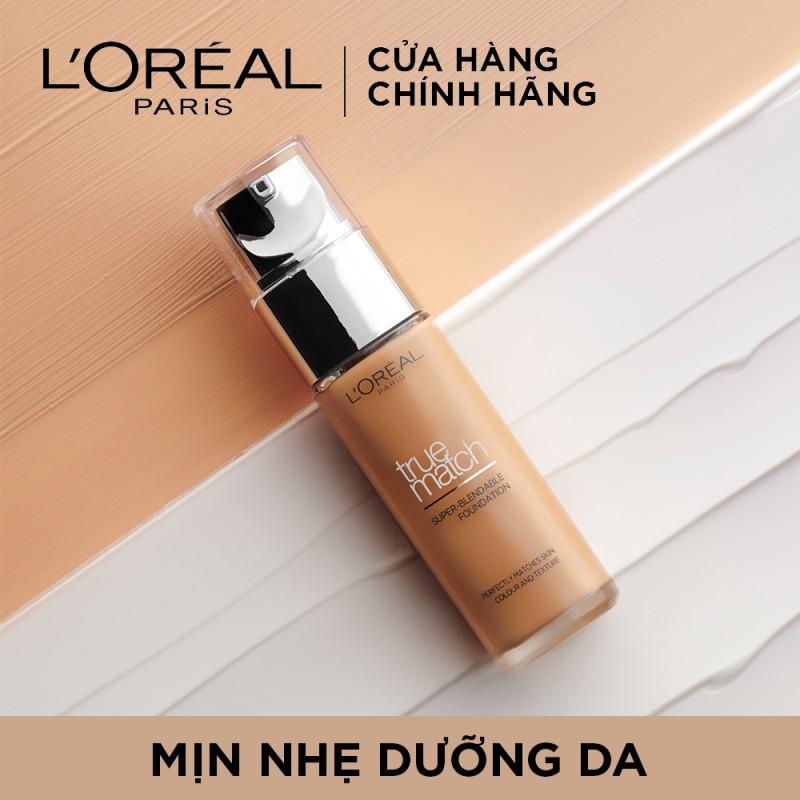 Kem Nền L'Oréal Paris Mịn Nhẹ Dưỡng Da Dạng Lỏng True Match Super-Blendable Foundation