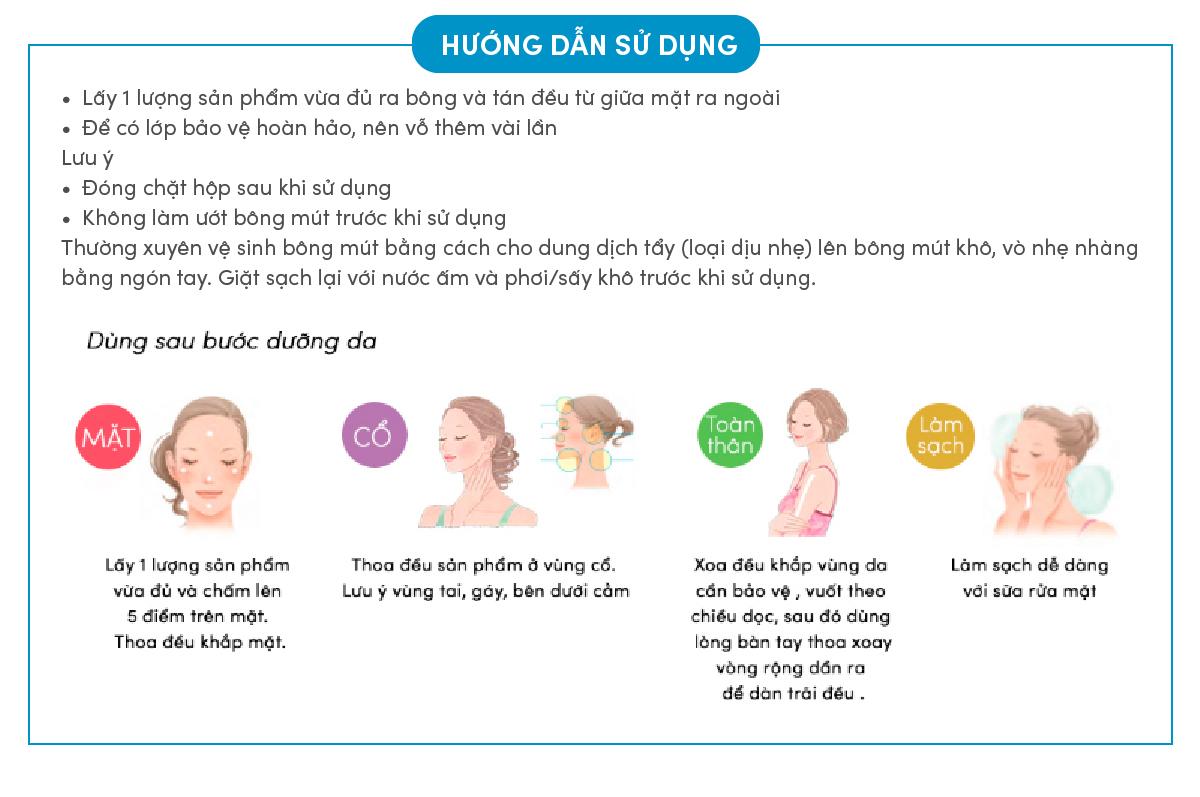 Kem Nền Trang Điểm Chống Nắng Dạng Nén Anessa Perfect UV Sunscreen Skincare Makeup Base SPF50+ PA+++ 10g kèm theo bông mút tiện dụng
