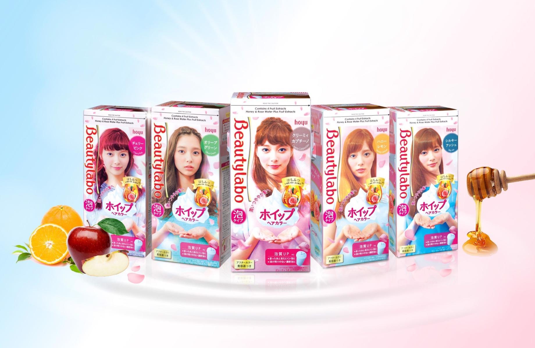 Kem Nhuộm Tạo Bọt Beautylabo Màu Nâu Kem Cappuccino - Creamy Cappuccino  40ml   Hasaki.vn