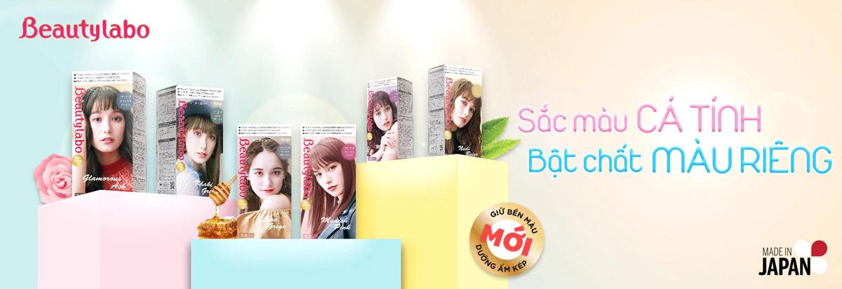 Kem Nhuộm Tóc Thời Trang Beautylabo Vanity Color