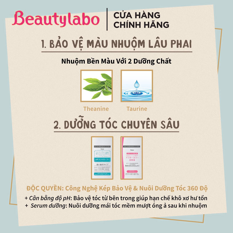 Kem Nhuộm Tóc Beautylabo Vanity Color hiện đã có mặt tại Hasaki